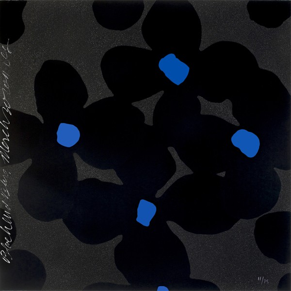Donald Sultan | Black and Blues | 2011 | Image of Artists' work.