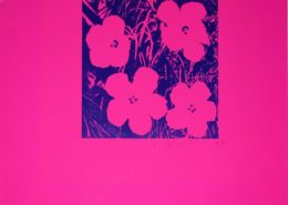 Andy Warhol | Flowers | Unique | 1964 | Image of Artists' work.