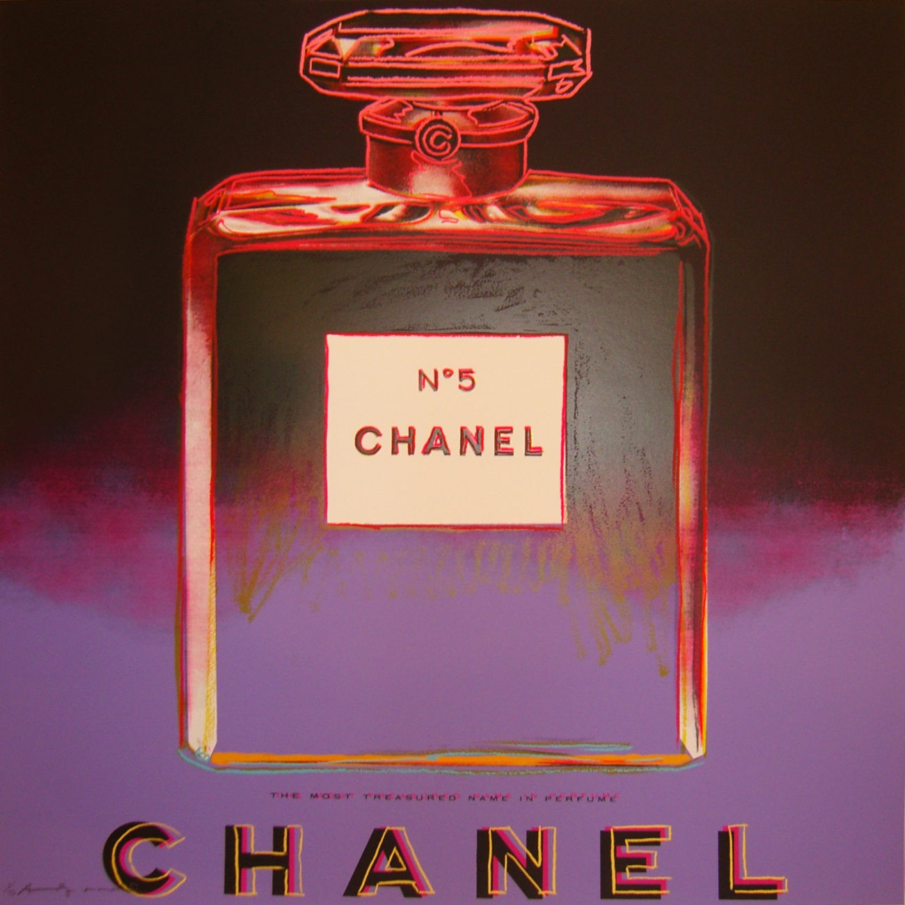 Andy Warhol | Ads | Chanel 354 | 1985 | Image of Artists' work.