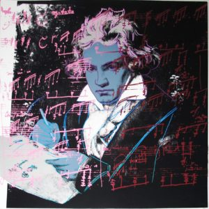 Andy Warhol | Beethoven 391 | 1987 | Image of Artists' work.