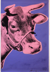 Andy Warhol | Cow | 12A | 1966 | Image of Artists' work.