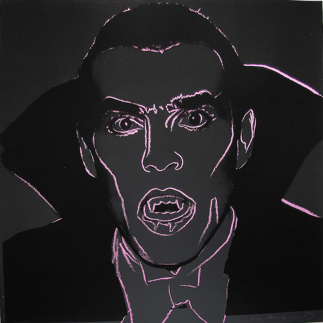 Andy Warhol | Myths | Dracula 264 | 1981 | Image of Artists' work.