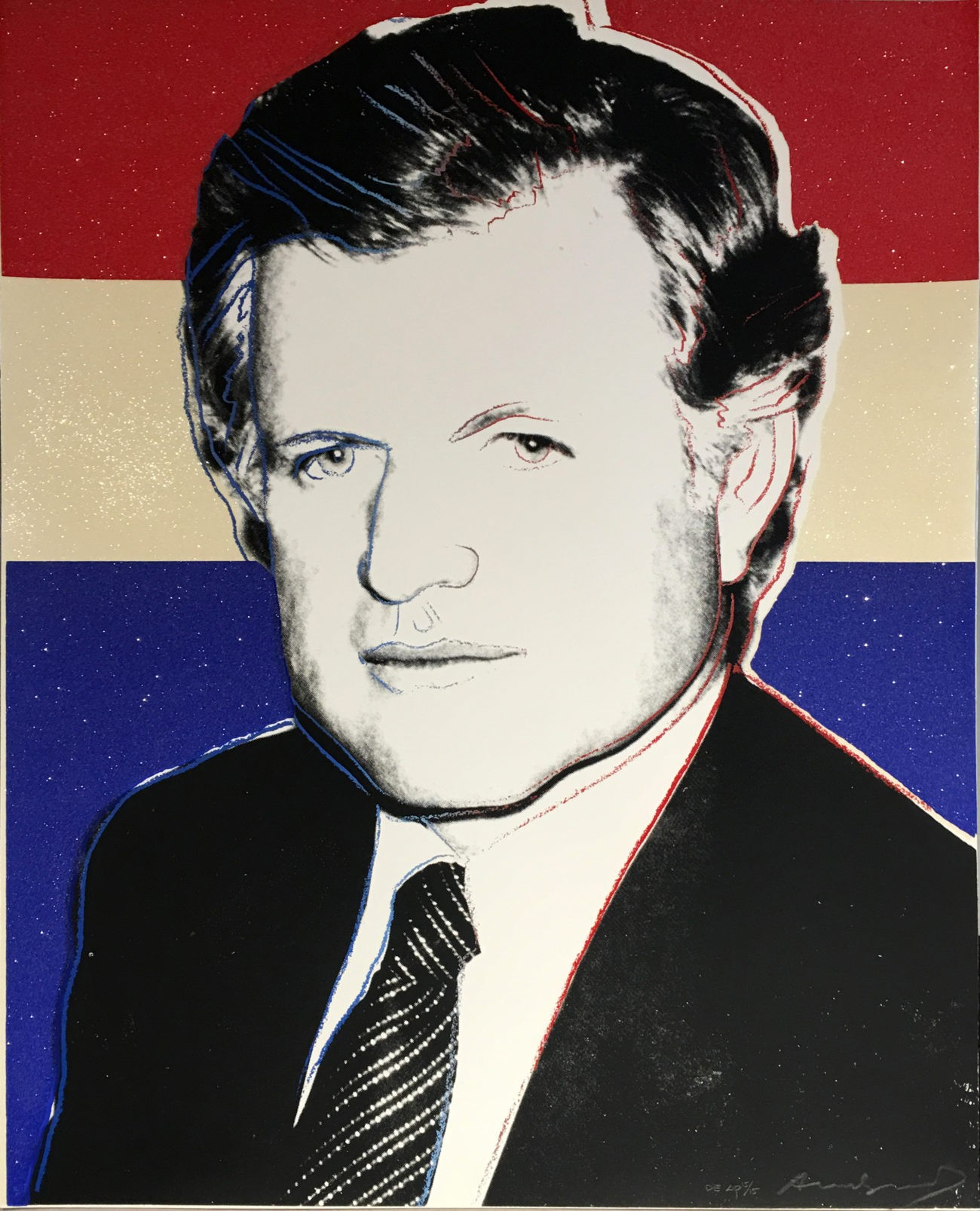 Andy Warhol | Edward Kennedy 241 | Deluxe Edition | 1980 | Image of Artists' work.