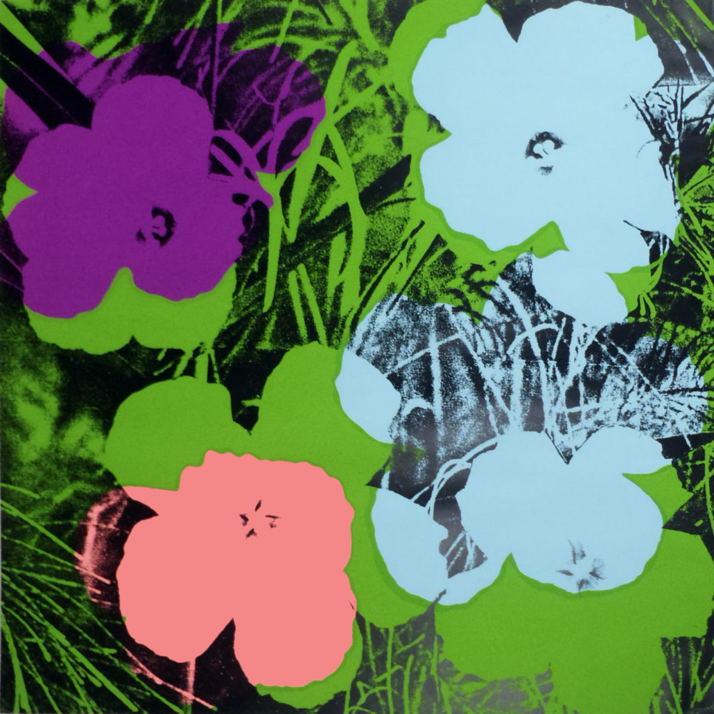 Andy Warhol | Flowers 64 | 1970 | Image of Artists' work.