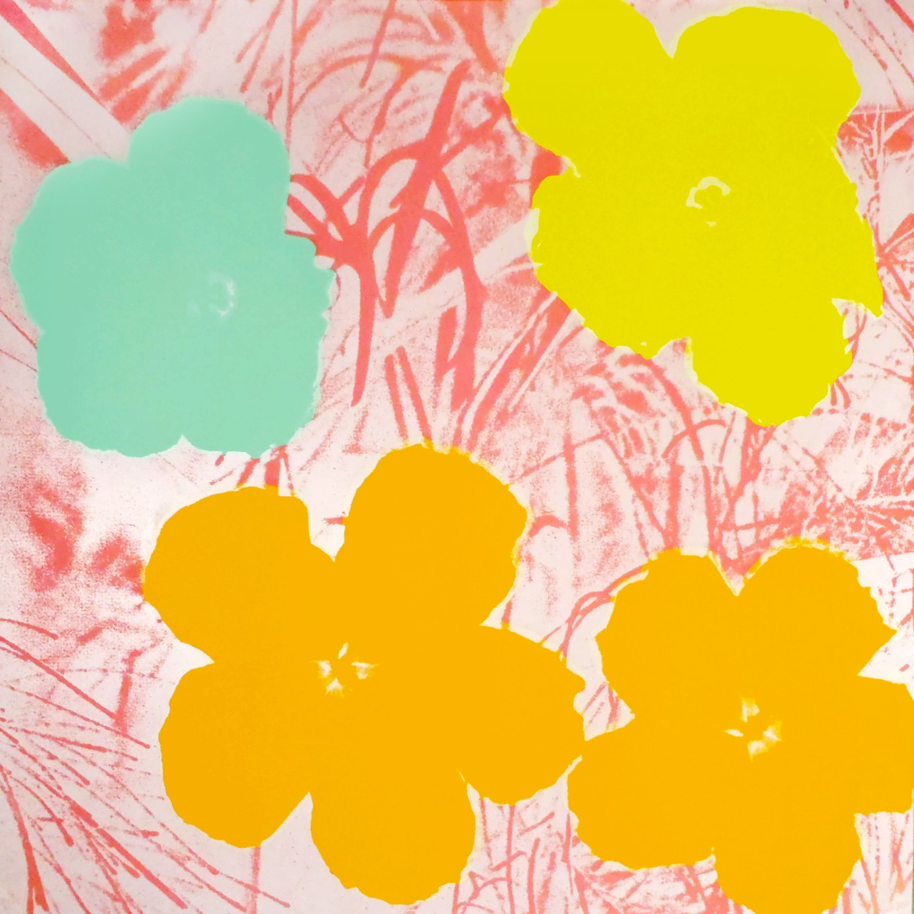 Andy Warhol | Flowers 70 | 1970 | Image of Artists' work.