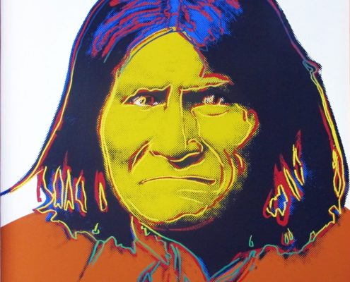 Andy Warhol | Cowboys and Indians | Geronimo 384 | 1986 | Image of Artists' work.