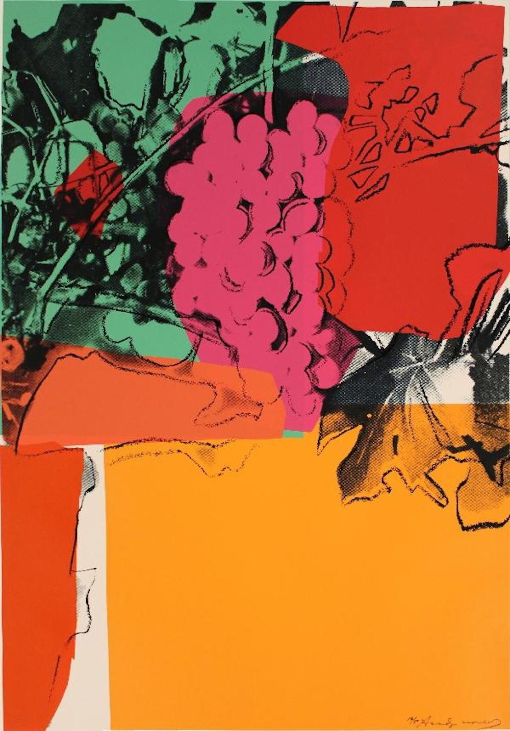 Andy Warhol | Grapes 190 | 1979 | Image of Artists' work.