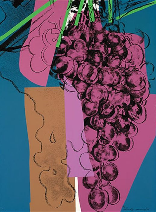 Andy Warhol | Grapes 192 | 1979 | Image of Artists' work.