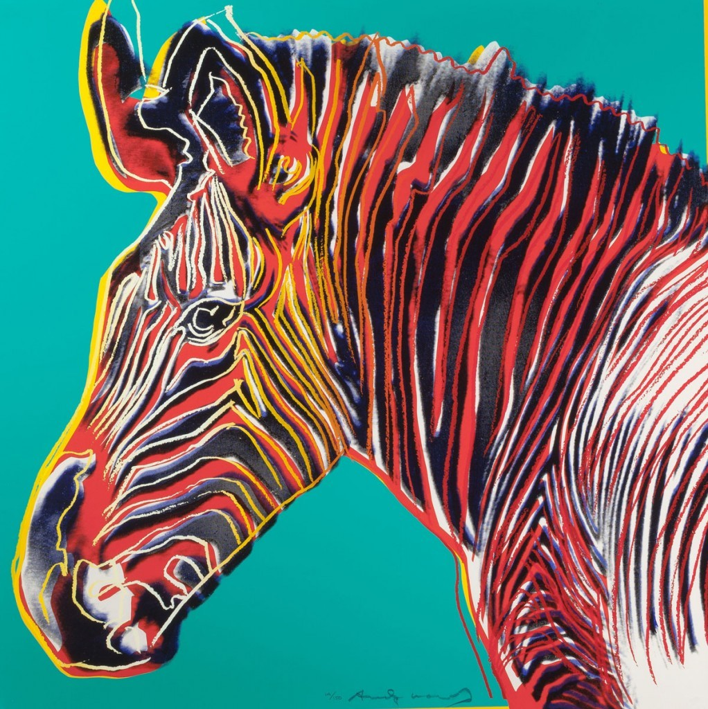 Andy Warhol | Grevy's Zebra 300 | 1983 | Image of Artists' work.