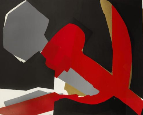 Andy Warhol   Hammer and Sickle   Special Edition 168   1977   Image of Artists' work.