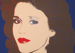 Andy Warhol | Jane Fonda 268 | 1982 | Image of Artists' work.