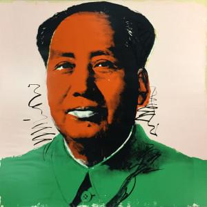 Andy Warhol   Mao 94   1972   Image of Artists' work.