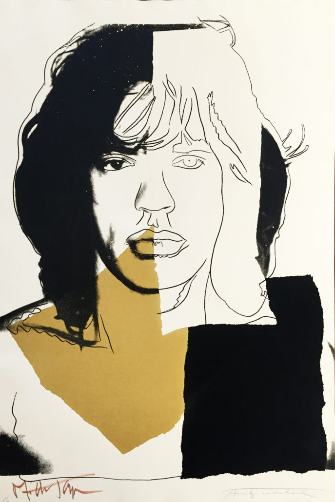 Andy Warhol | Mick Jagger 146 | 1975 | Image of Artists' work.