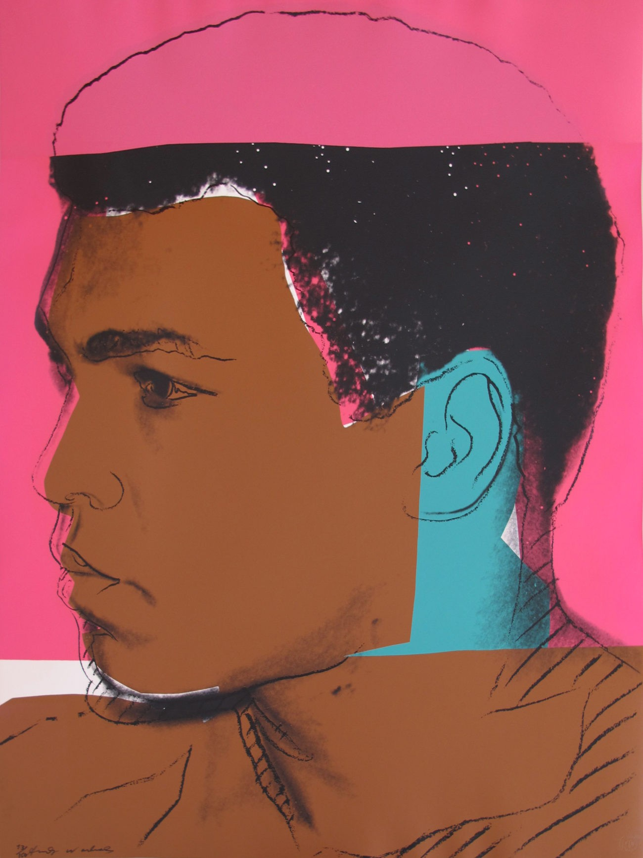 Andy Warhol | Muhammad Ali 79 | 1978 | Image of Artists' work.