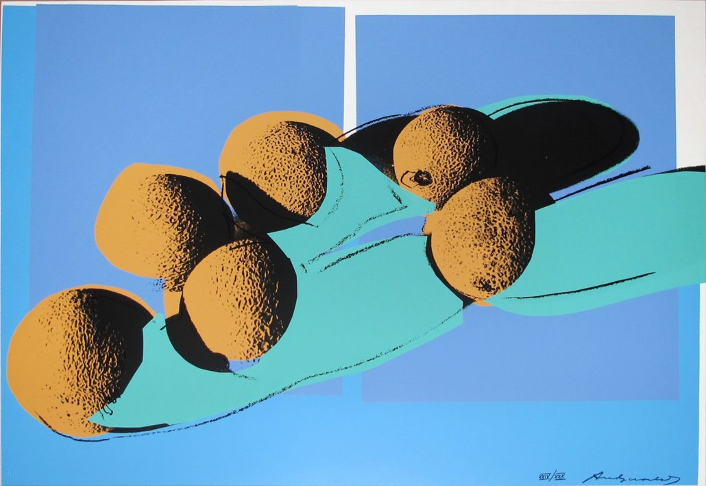 Andy Warhol | Space Fruit | Cantaloupes 201 | 1979 | Image of Artists' work.