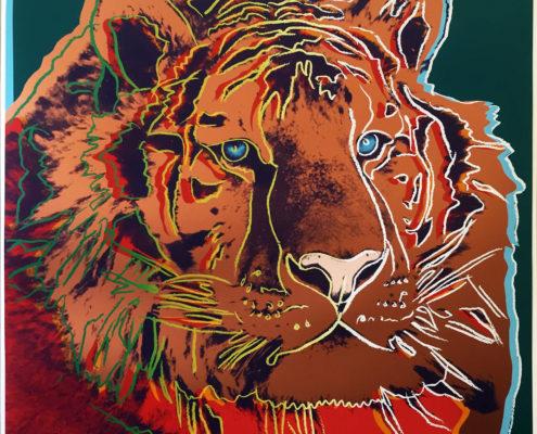 Andy Warhol   Endangered Species   Siberian Tiger 297   1983   Image of Artists' work.
