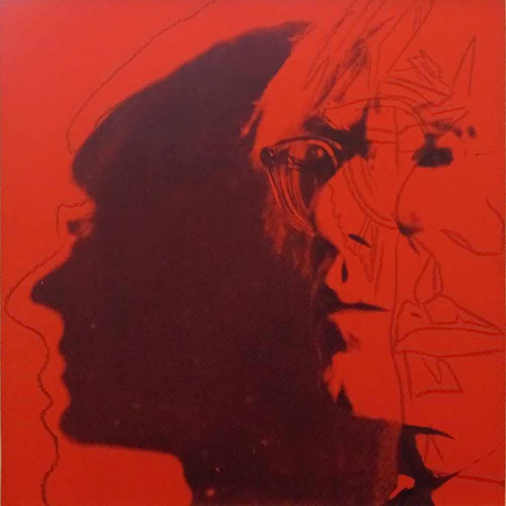 Andy Warhol | The Shadow 269A | 1981 | Image of Artists' work.