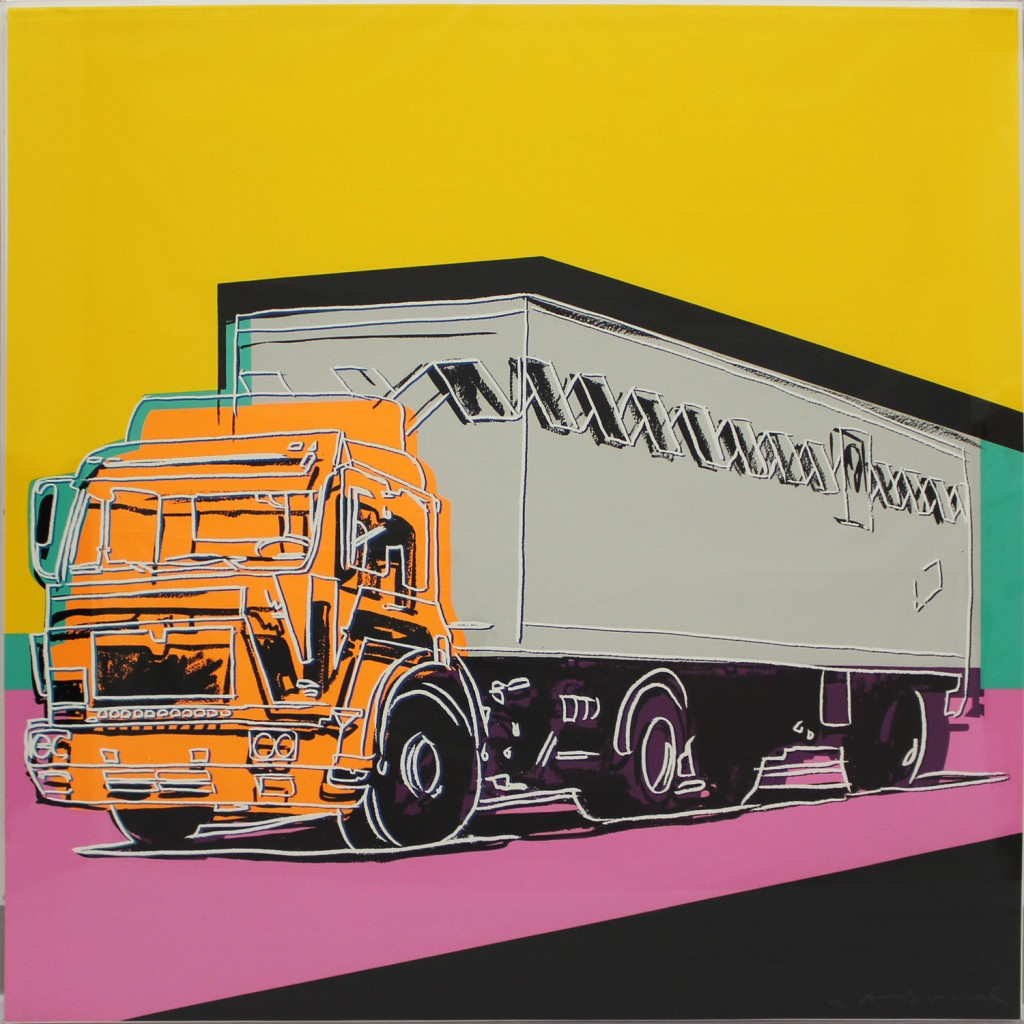 Andy Warhol | Truck 367 | 1985 | Image of Artists' work.