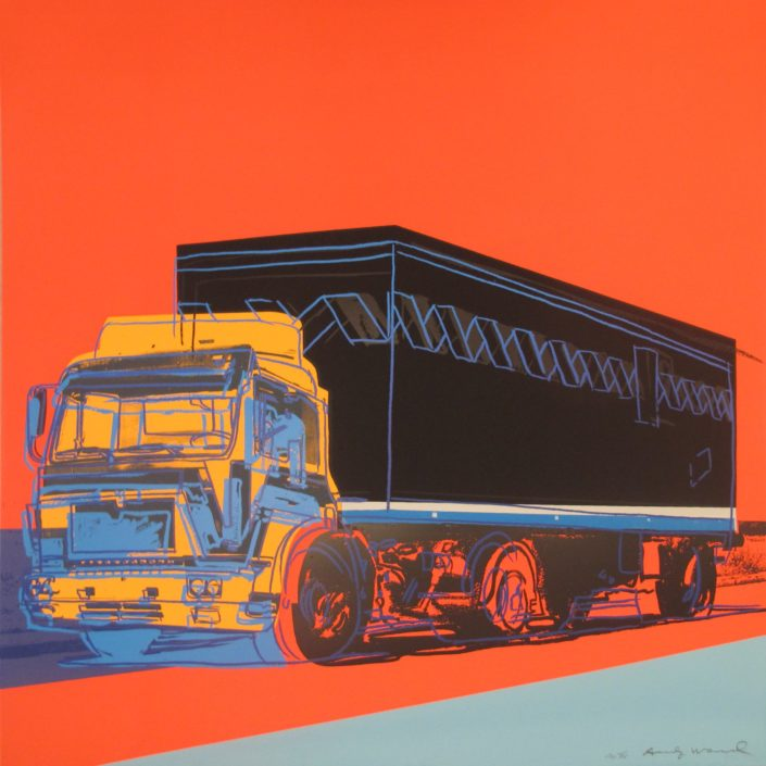 Andy Warhol | Truck 369 | 1985 | Image of Artists' work.