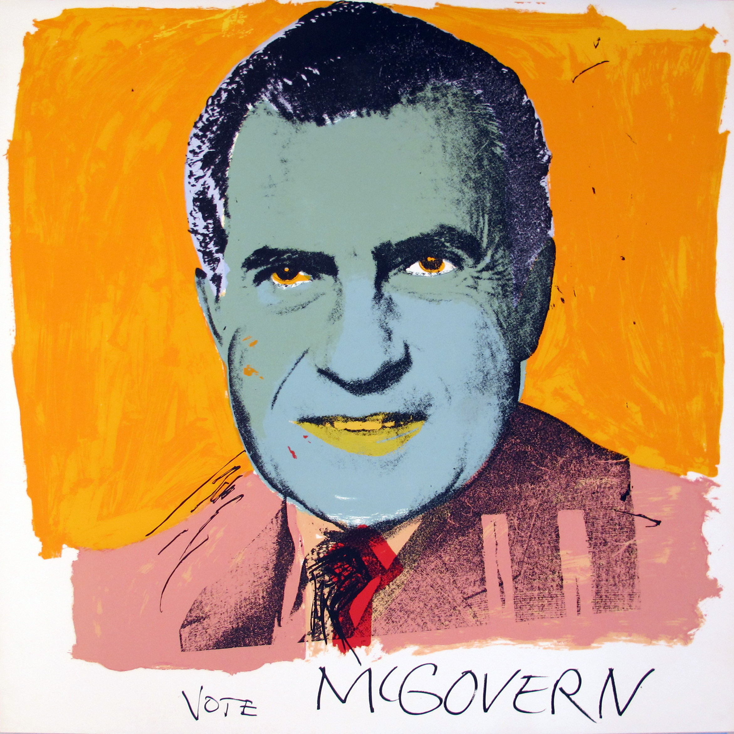 Andy Warhol | Vote McGovern 841 | 1972 | Image of Artists' work.