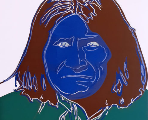 Andy Warhol | Geronimo 384 | 1986
