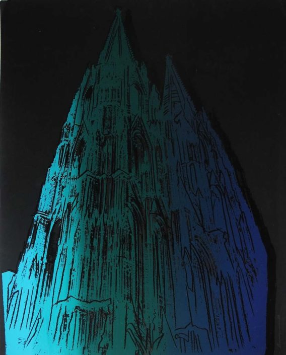 Andy Warhol | Cologne Cathedral | 1985 | Image of Artists' work.