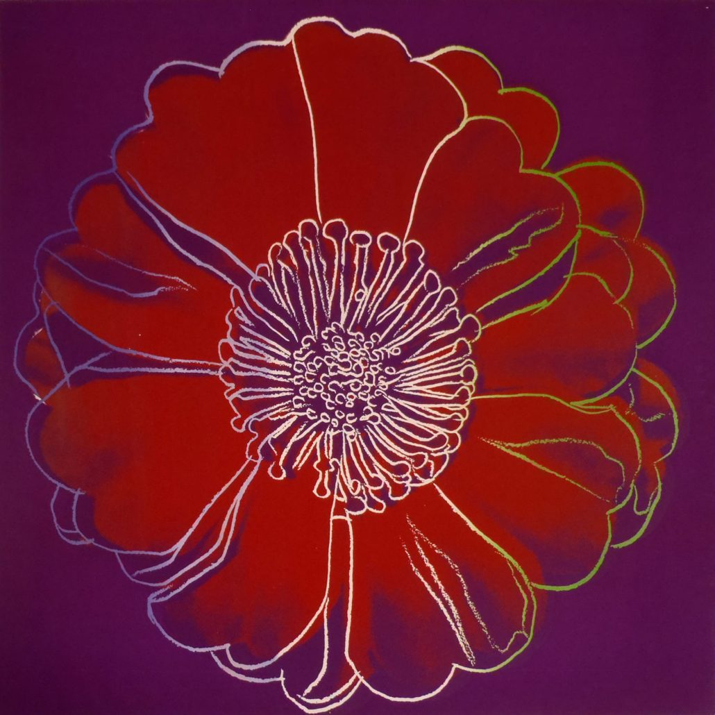 Andy Warhol | Flower for Tacoma Dome | 1982 | Image of Artists' work.