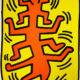 Keith Haring | Growing 1 | 1988 | Image of Artists' work.