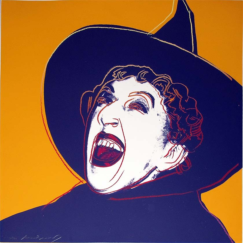 Andy Warhol | Myths | The Witch | 1981 | Image of Artists' work.