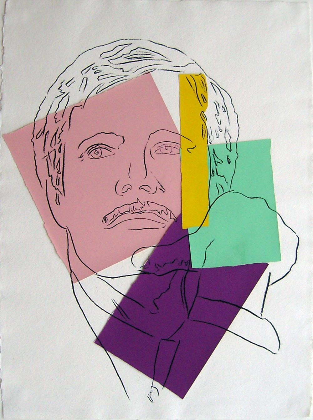 Andy Warhol | Ted Turner | 1986 | Image of Artists' work.