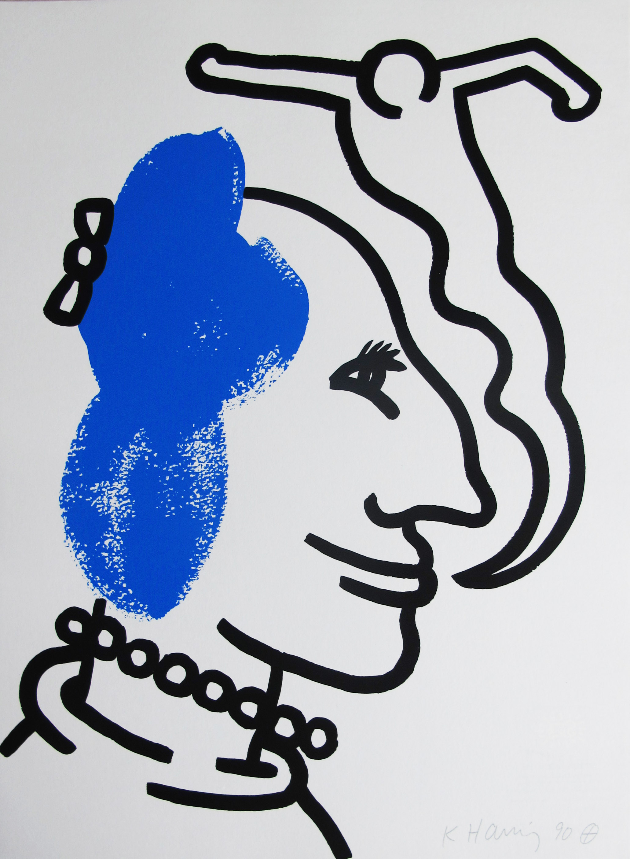 Andy Warhol | The Story of Red and Blue 6 | 1989 | Image of Artists' work.