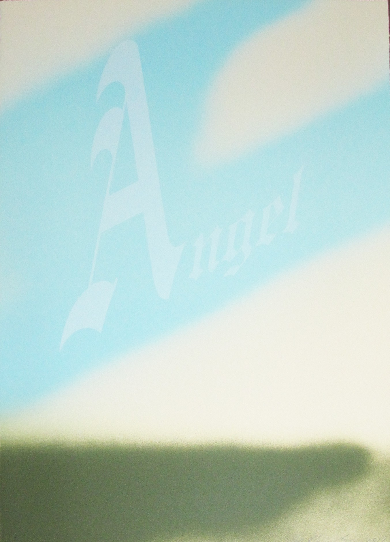 Ed Ruscha | Angel | 1967 | Image of Artists' work.