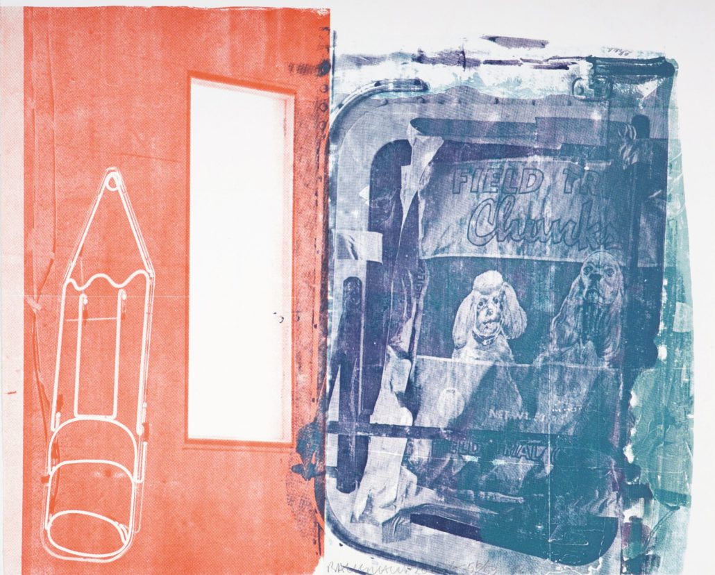 Robert Rauschenberg | Best Buddies | 1992 | Image of Artists' work.
