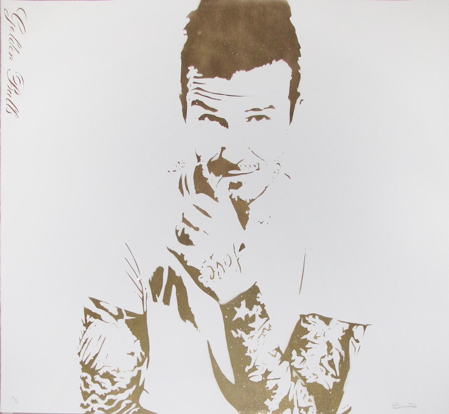 Bambi   Beckham Golden Balls   Image of Artists' work.