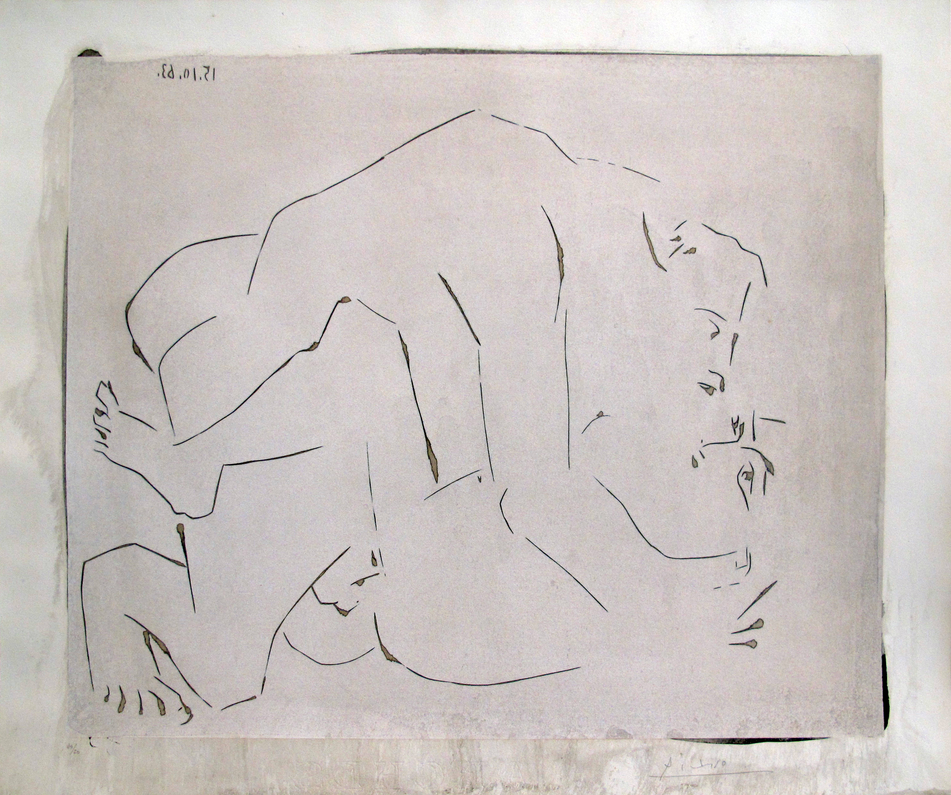 Pablo Picasso | L'Etreinte I | 1963 | Image of Artists' work.