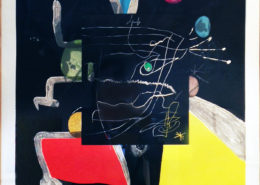 Joan Miro | Llibre Del Sis Sentits V | 1980 | Image of Artists' work.