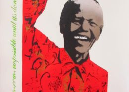 Bambi | Mandela | Red | 2013 | Image of Artists' work.