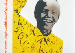 Bambi | Mandela | Yellow | 2013 | Image of Artists' work.