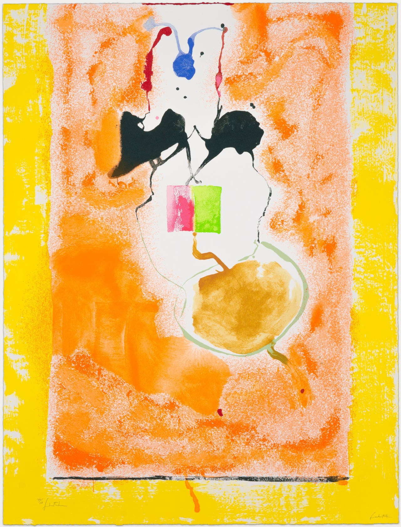 Helen Frankenthaler | Solar Imp | 2001 | Image of Artists' work.