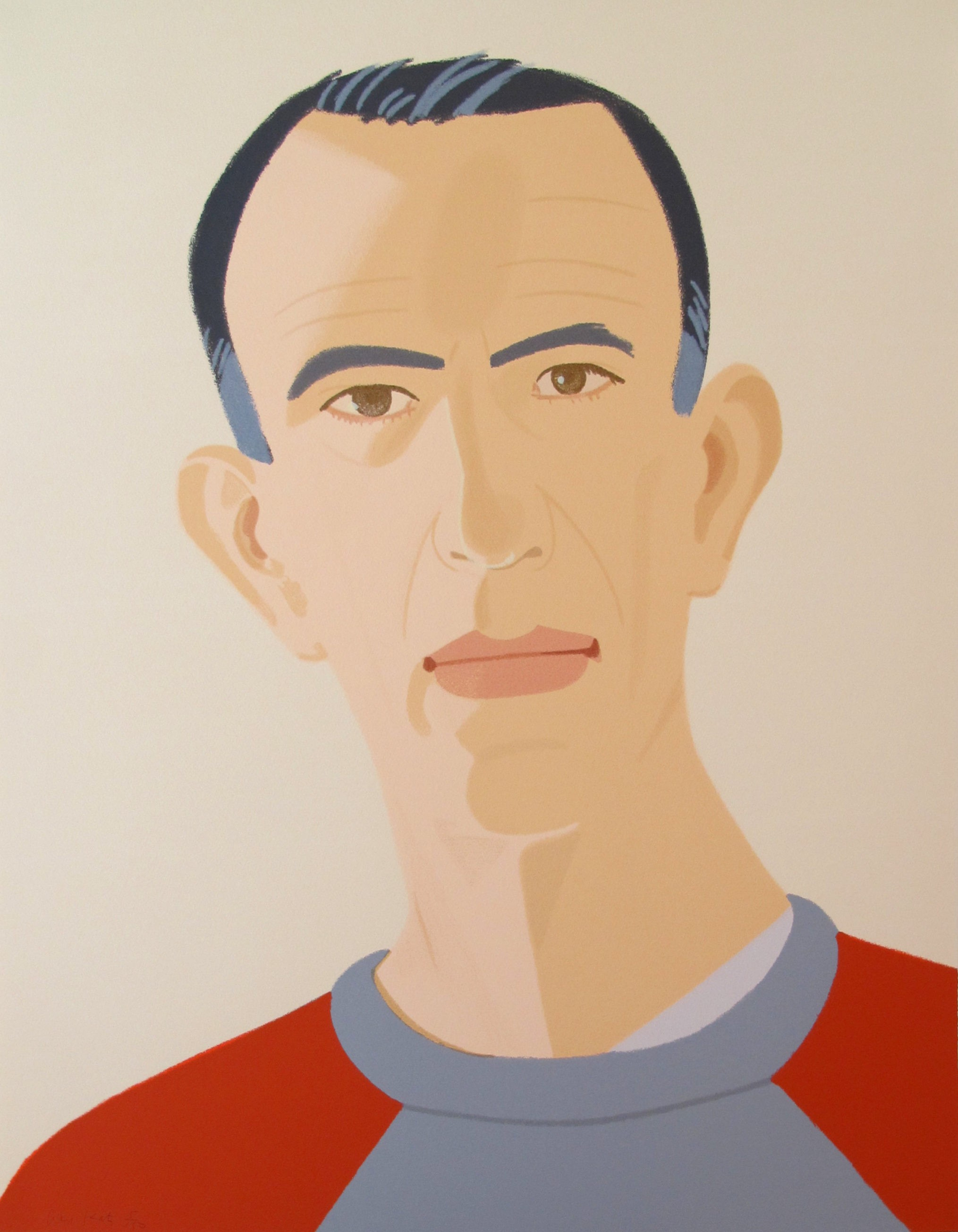 Alex Katz | Sweatshirt II | 1990 | Image of Artists' work.