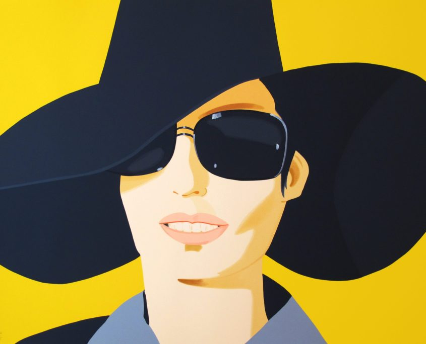 Alex Katz | Vivien in Black Hat | 2010 | Image of Artists' work.