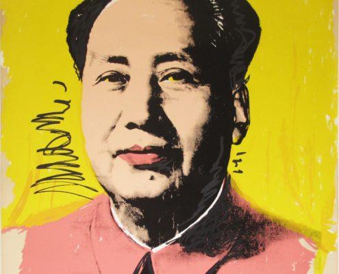 Andy Warhol | Mao 97 | 1972 | Image of Artists' work.