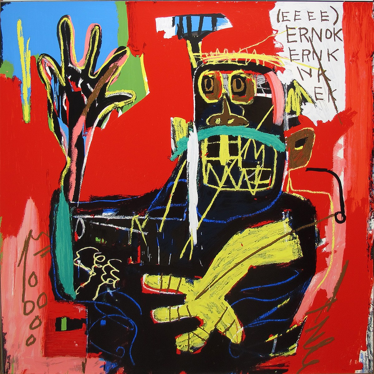 Jean-Michel Basquiat | Ernok | 1982-2001 | Image of Artists' work.