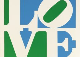 Robert Indiana | Lily | from A Garden of Love | 1982 | Image of Artists' work.
