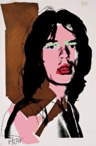 Andy Warhol Screen Print | Mick Jagger