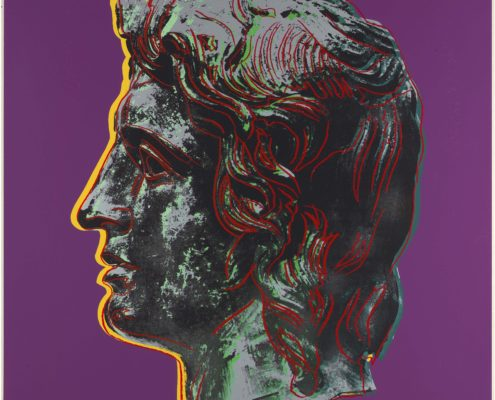 Andy Warhol | Alexander the Great [II.291] | 1982 | Image of Artists' work.