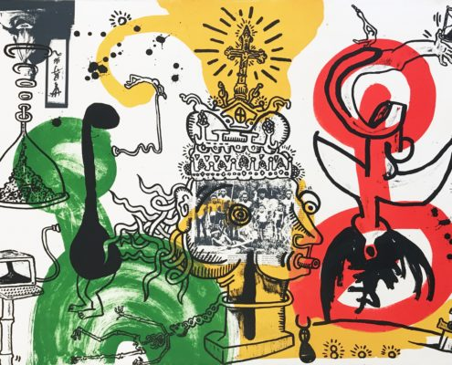 Keith Haring | The King | 1989 | Image of Artists' work.