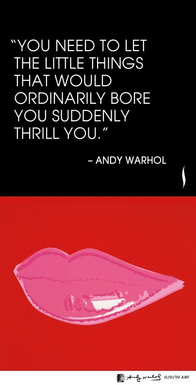 Andy Warhol Quotes Fascinating Andy Warhol's 7 Most Unforgettable Quotes  Hamiltonselway