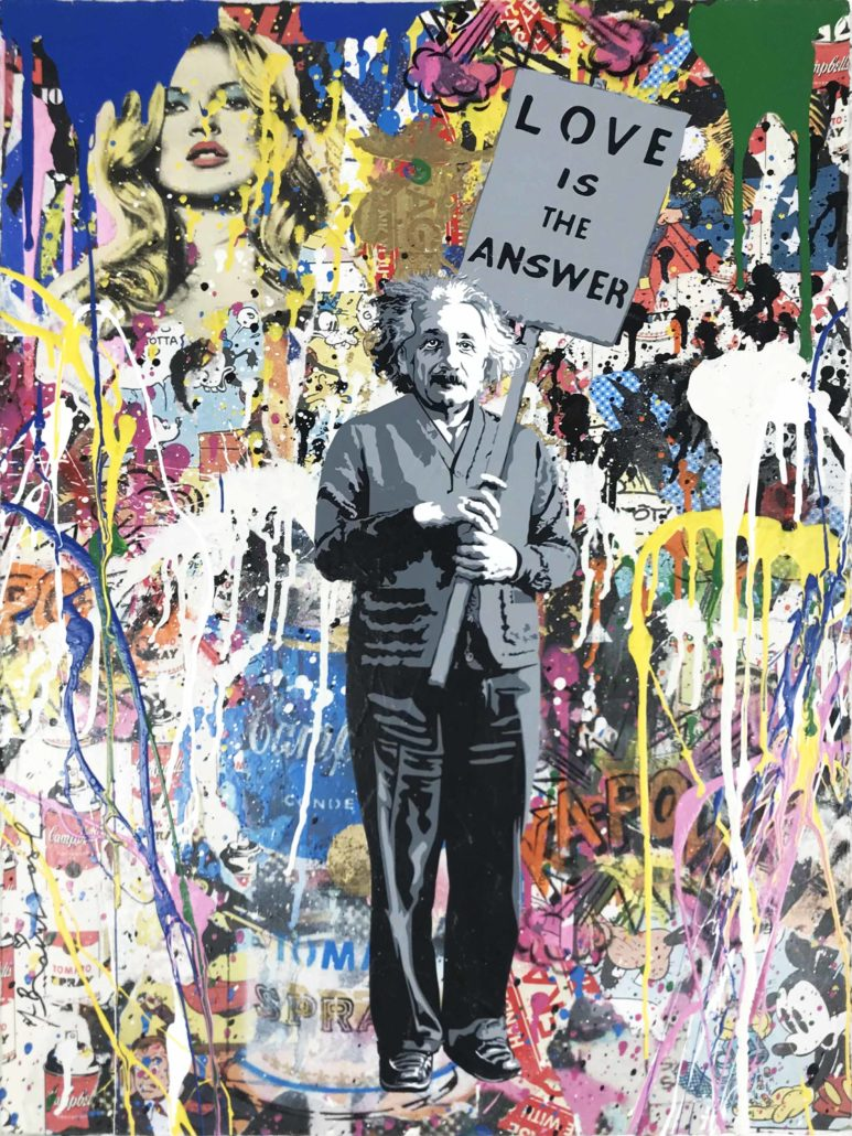 Mr. Brainwash | Einstein | 2018
