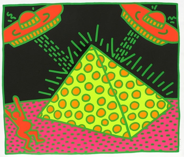 Keith Haring | Fertility Series | Untitled 1 | 1983